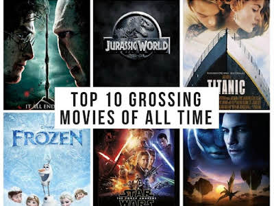 Top 10 Grossing Movies of All Time