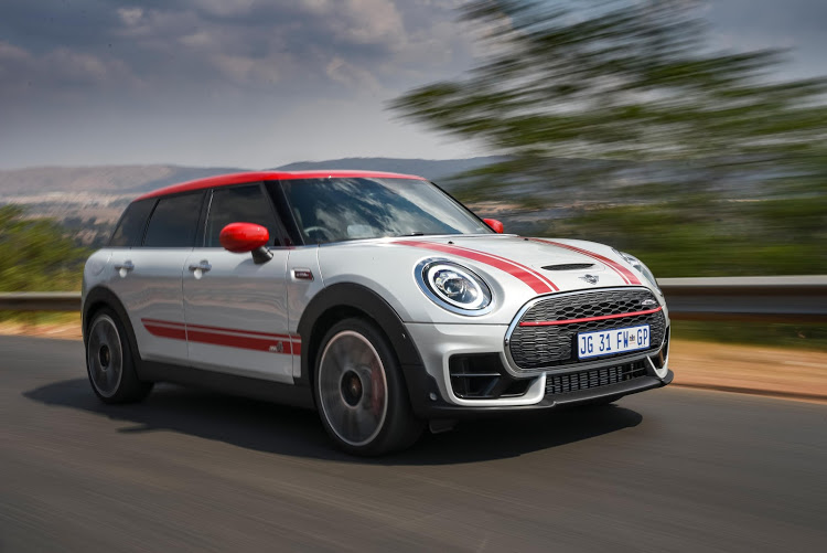 Eccentric Clubman JCW is a derivative of many capabilities.
