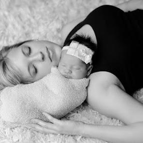 Peace by Shayna Ebert - People Family ( baby, mom )