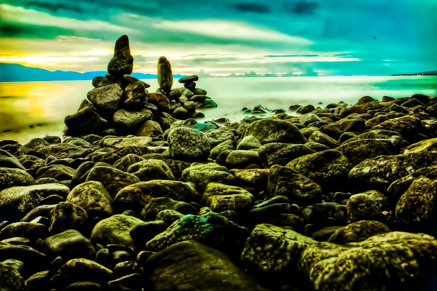 my creation by Hendra De Strijders - Nature Up Close Rock & Stone