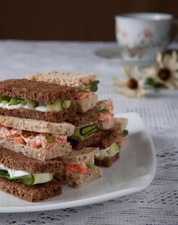 Carrot-ginger Tea Sandwiches Recipe