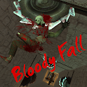 Bloody Fall - Ragdoll Physics icon