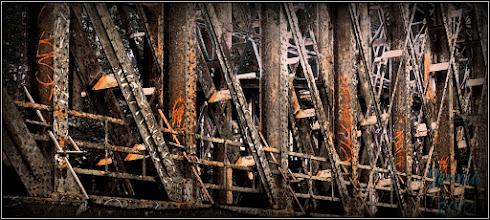 Photo: old steel bridge