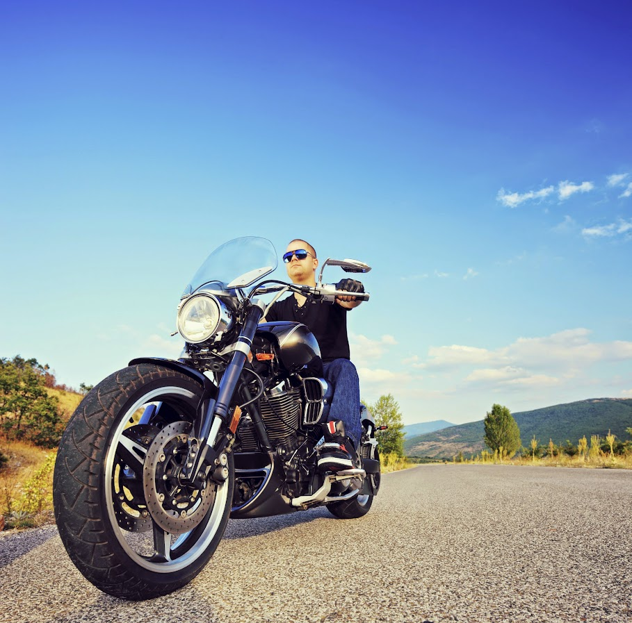 Insurance, Motorcycle Rider Photo - Albuquerque Insurance World