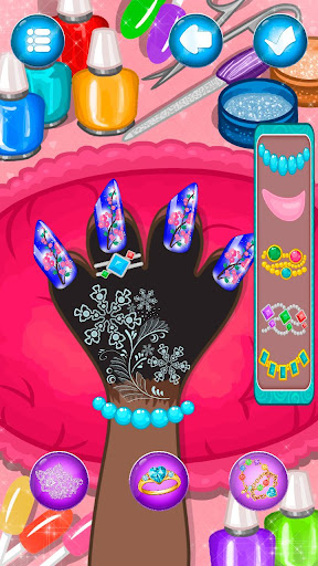 Hippo's Nail Salon: Manicure for girls 1.0.7 gameplay | by HackJr.Pw 7