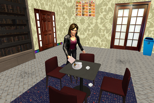 Virtual Waitress : Hotel Manager Simulator apktram screenshots 4