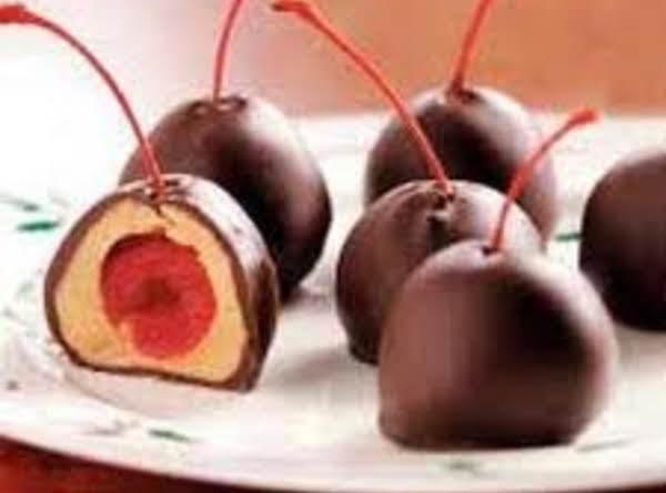 Cherry Peanut Butter Balls Recipe