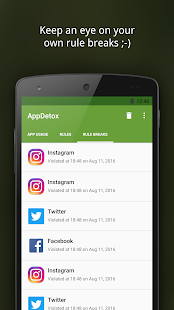 AppDetox - Digital Detox Screenshot