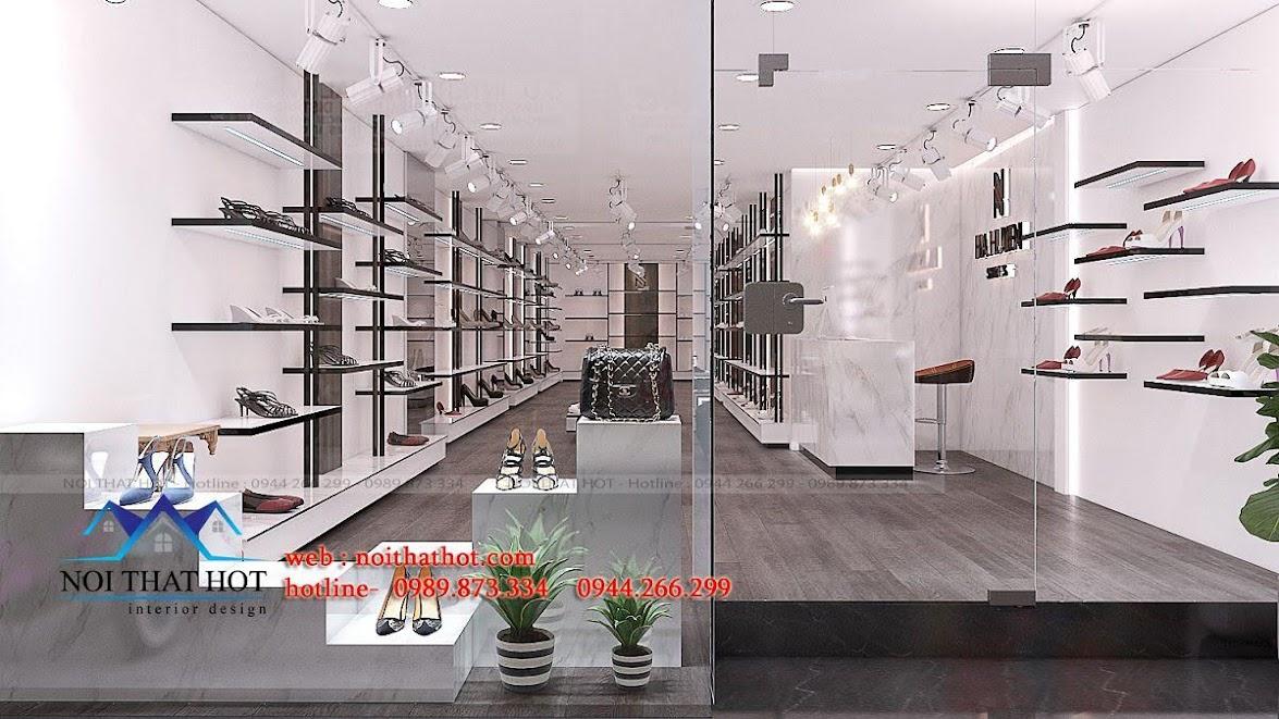 thiết kế shop giày dép thời trang ha huyen 2