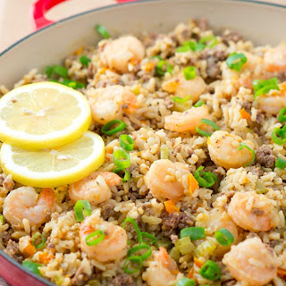 Easy Dirty Rice with Shrimp