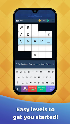 Daily Crossword Explorer - Tiny Crossword 1.12.0 screenshots 1