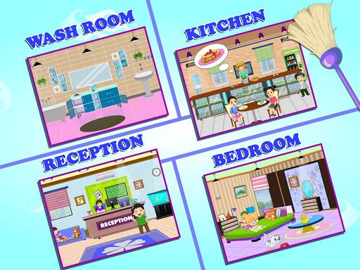 Pretend Play Hotel Cleaning: Doll House Fun 1.1.1 screenshots 7