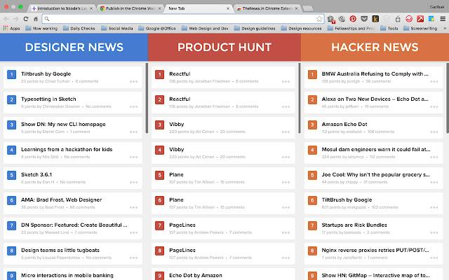 TheNews.im Chrome Extension