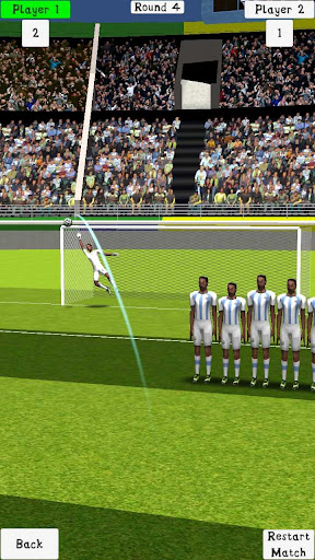 2 Player Free Kick 4.88 screenshots 7