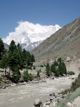 Photo: River from Rupal Valley with lots of meltwater from glaciers