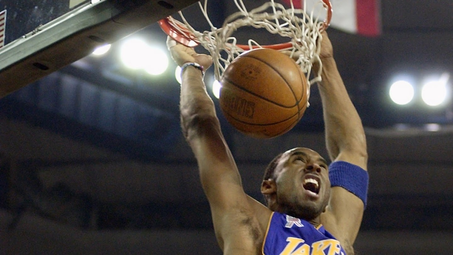 Watch 1997: Rookie Kobe Bryant Wins His Only Slam Dunk Contest live