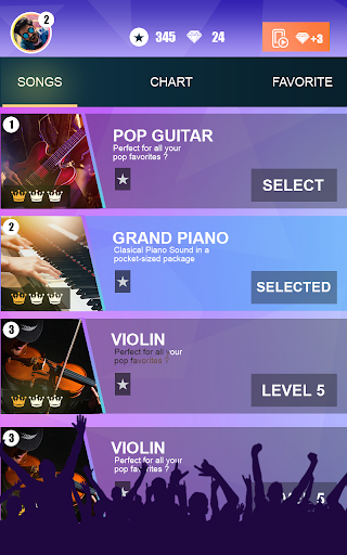 Fantastic Magic Piano Tiles: Vocal Real Music 3 screenshots 4