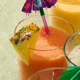 Fresh Hawaiian Smoothie.