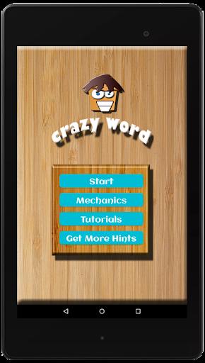 CRAZYWORD u25b2 UNIQUE WORD GAME (Filipino, English) android2mod screenshots 9