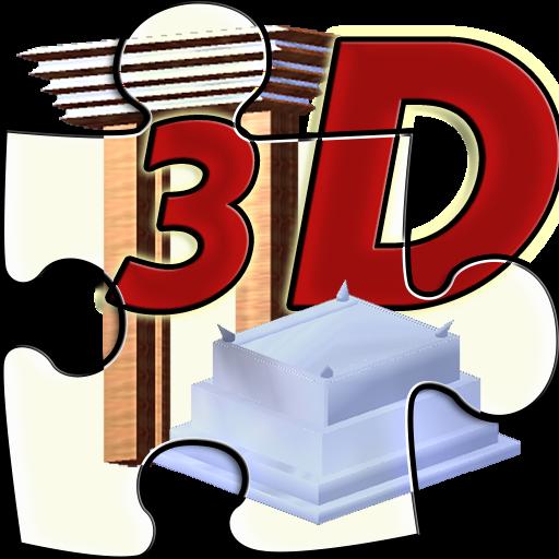 Puzzle Mikdach 3D
