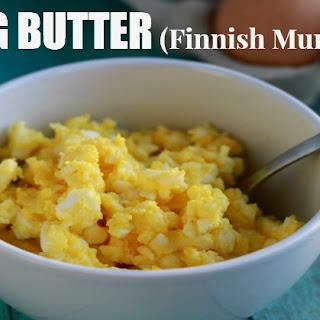 Egg Butter (Finnish Munavio)
