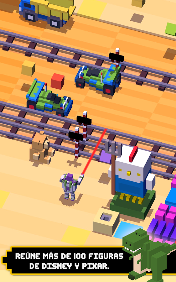 Disney Crossy Road: captura de pantalla