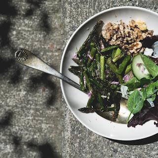 My Favorite Roasted Asparagus Salad