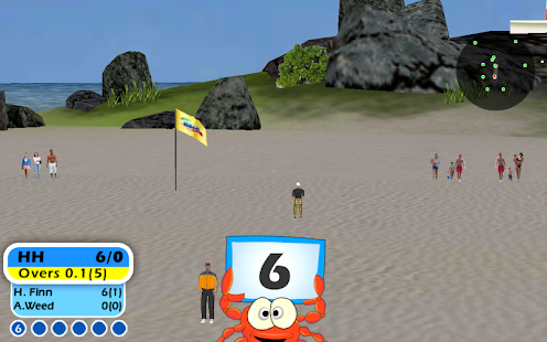 Beach Cricket- screenshot thumbnail