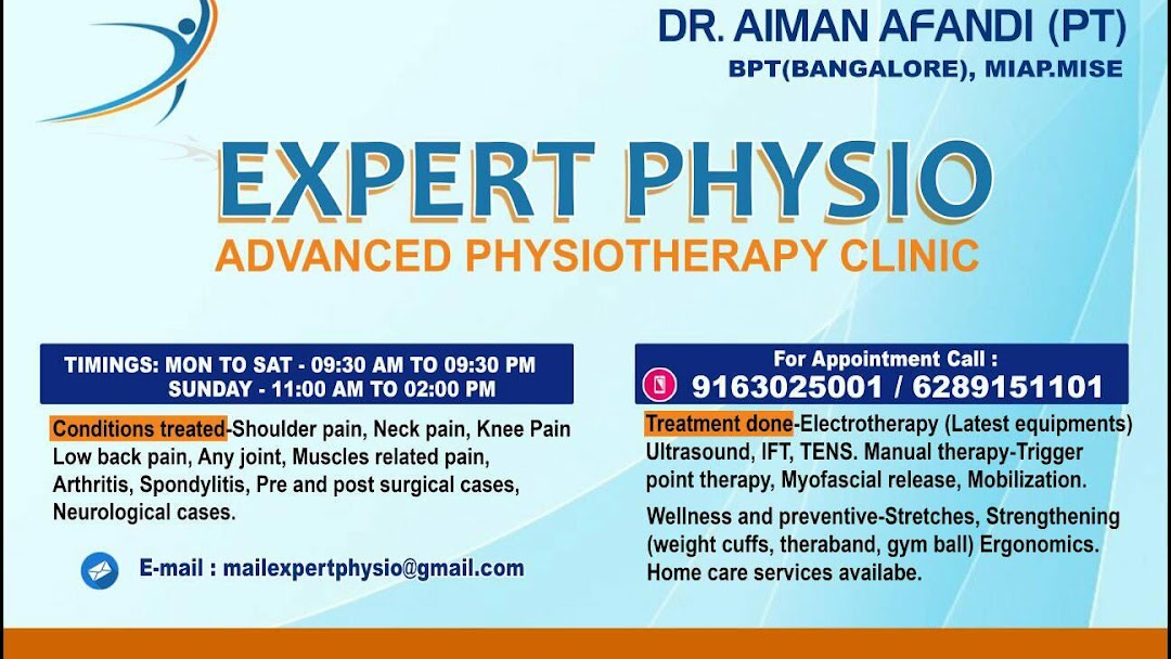 EXPERT PHYSIO-ADVANCED PHYSIOTHERAPY CLINIC - Physical