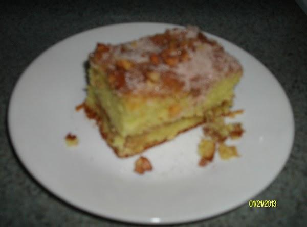 Mom's Pistachio Coffee Cake Recipe