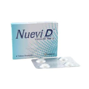 Nuevi D 7000 UI Tableta