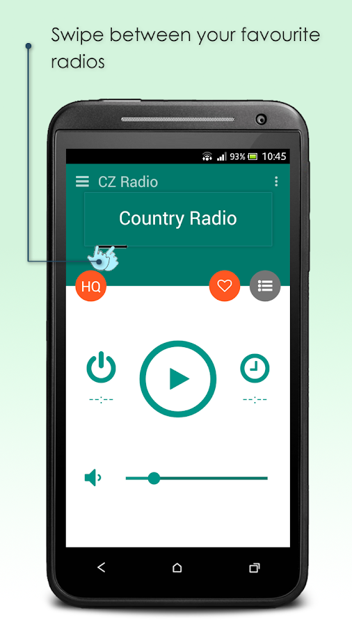 CZ Radio- screenshot