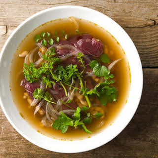 Nordic Goose Soup, Pho Style.