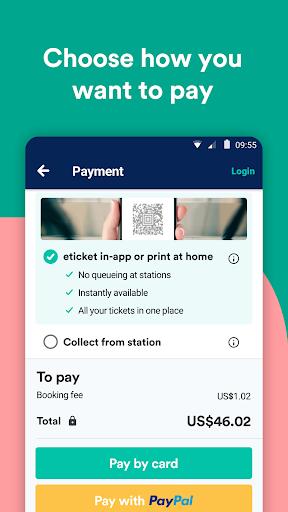 Trainline - Buy cheap European train & bus tickets 131.0.0.61044 screenshots 6