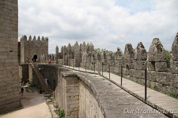 Замок Гимарайнш - Португалия