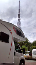 Photo: Just booked in to Crystal Palace caravan club site ready for the Tour de France stage on Monday. Satnav took use straight threw London fortunatley no congestion charge at the weekend.