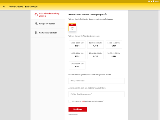 DHL Paket screenshot 12