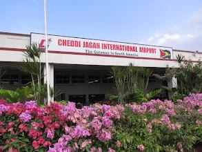 Photo: Cheddi Jagan airport