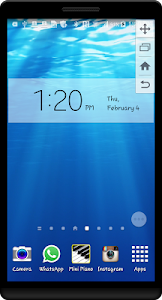Underwater HD Live Wallpaper screenshot 0