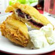 Deep-Fried Jam Sandwich