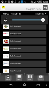 TTCL IPTV player screenshot