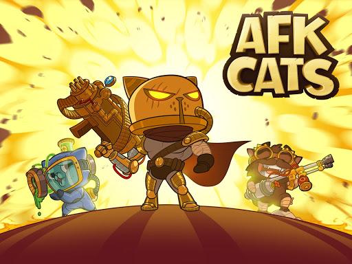 Code Triche AFK Cats: Arène RPG Idle et Batailles de vos Héros mod apk screenshots 1