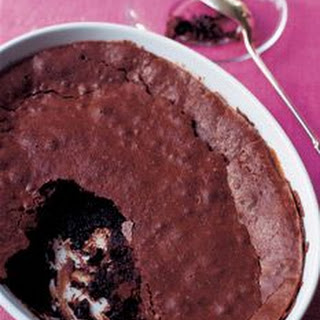 Baked Chocolate Pudding/Brownie Pudding