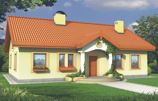 projekt Sielanka II 35st. wersja A bez garażu z piwnicą