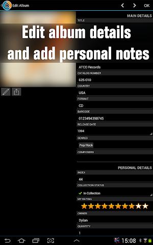 android CLZ Music - Music Database Screenshot 3