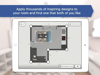 Room Planner: Home Interior & Floorplan Mod Apk (Unlocked) 8