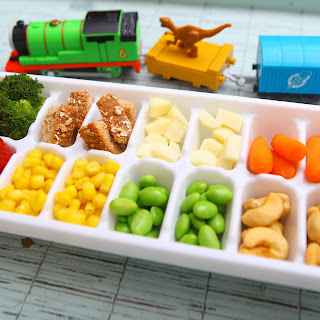 Toddler Approved Ice Cube Tray Colorful Buffet.