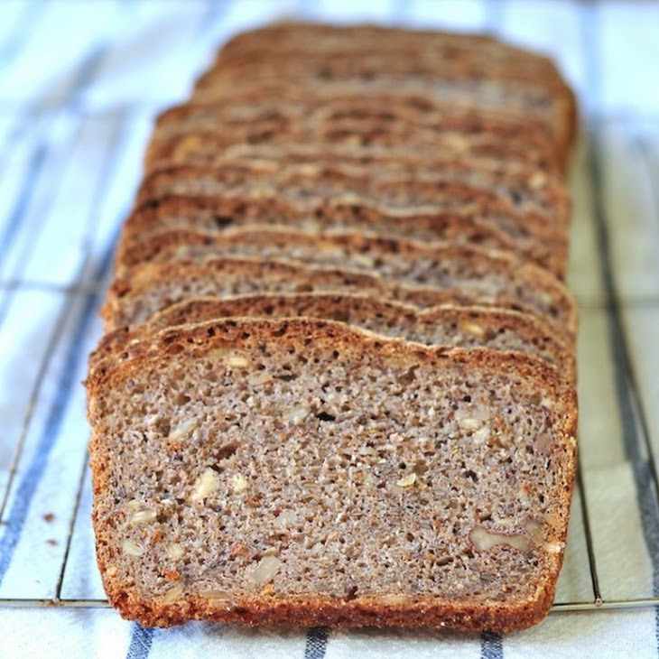 Caraway Rye Bread With Nuts And Seeds