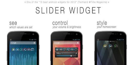 Slider Widget - Volumes - Apps on Google Play