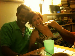 Photo: The night flew by with this golden, convivial couple!